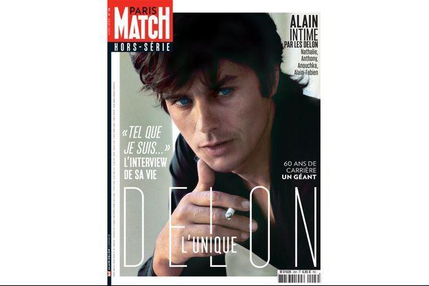 La couverture du hors-série Alain Delon