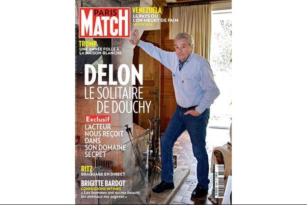 La couverture du numéro 3584 de Paris Match