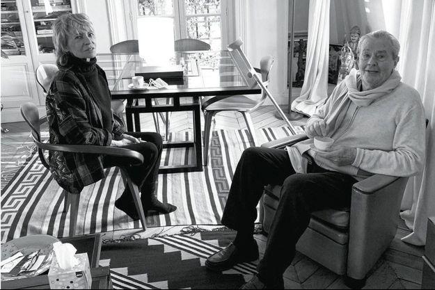 Alain et Nathalie Delon se sont mariés en 1964.