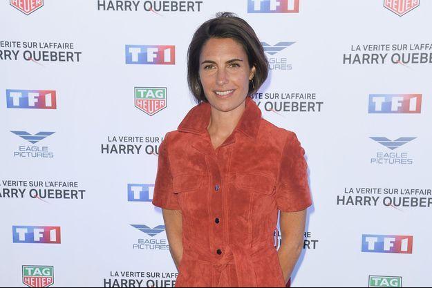 """Alessandra Sublet à la première de la série """"La vérité sur l'affaire Harry Quebert"""" à Paris, le 12 novembre 2018"""