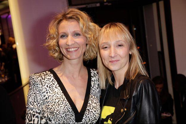 Alexandra et Audrey Lamy en 2013