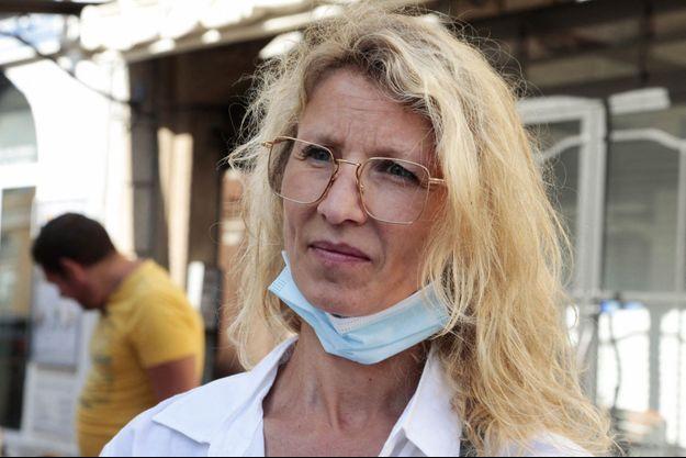 Alexandra Lamy en mai 2020.