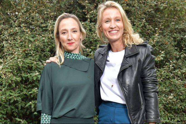 Audrey et Alexandra Lamy au défilé Lacoste à Paris le 1er octobre 2019