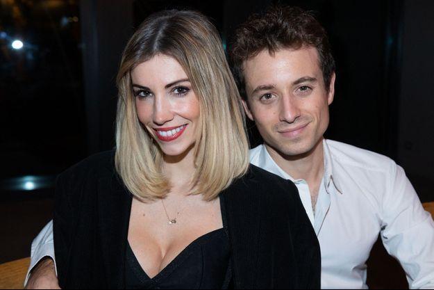Alexandra Rosenfeld et Hugo Clément en 2018