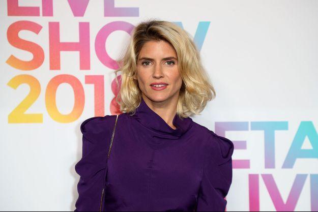 Alice Taglioni au défile Etam en septembre 2018
