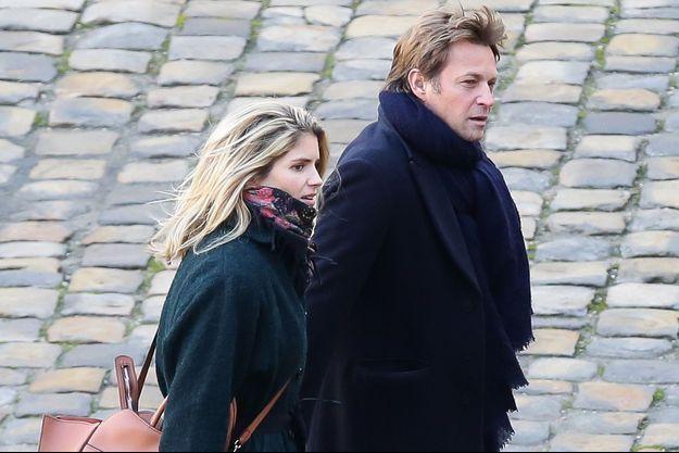 Laurent Delahousse et Alice Taglioni en décembre 2017.