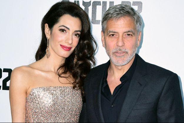 Amal et George Clooney en mai 2019 à Londres.