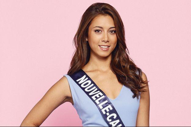 Amandine Chabrier, Miss Nouvelle-Calédonie 2018