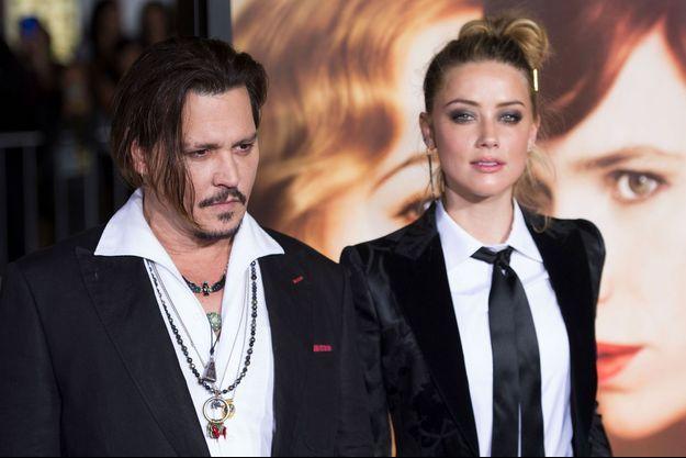 Johnny Depp et Amber Heard, novembre 2015