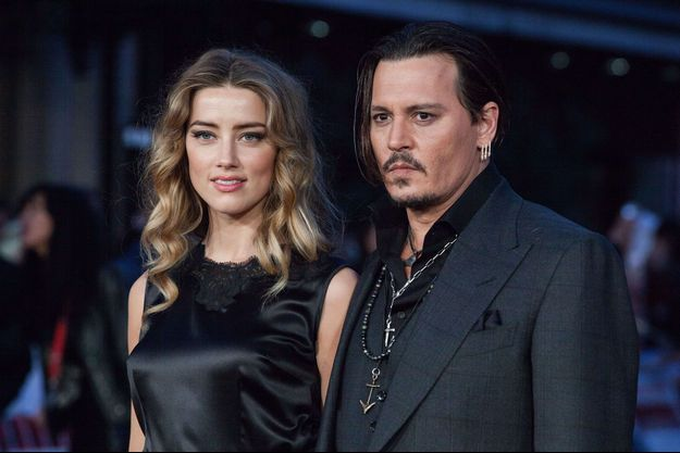 Amber Heard et Johnny Depp en octobre 2015