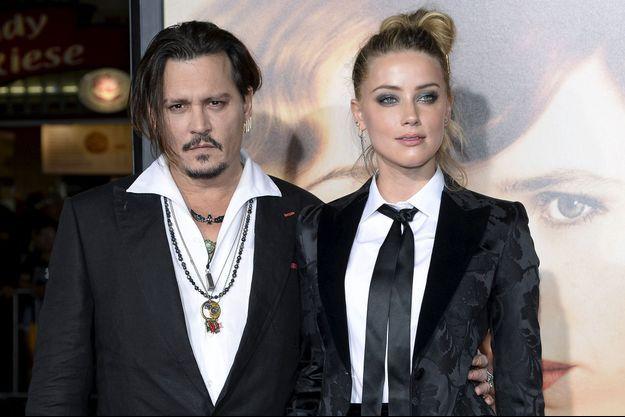 Johnny Depp et Amber Heard en 2016