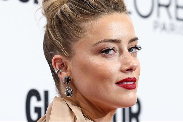 Amber Heard aux Glamour Women of the Year Awards, le 14 novembre 2016.