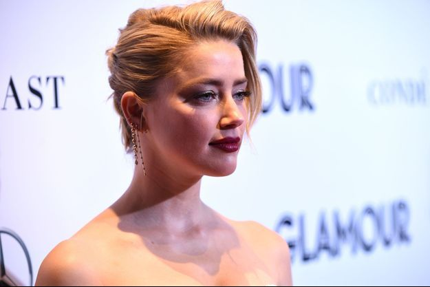 Amber Heard le 12 novembre 2018 à New York