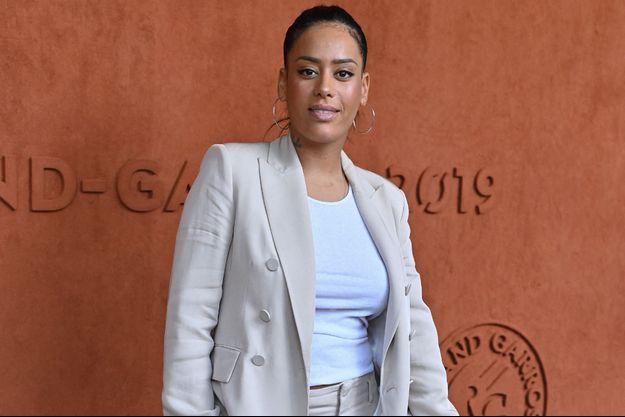 Amel Bent à Paris en juin 2019.
