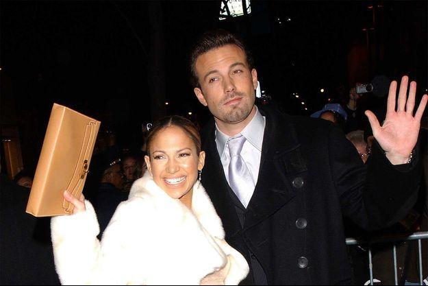 Ben Affleck et Jennifer Lopez dans les années 2000.