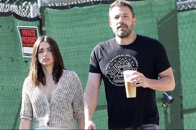 Ana de Armas et Ben Affleck à Los Angeles le 21 mars 2020
