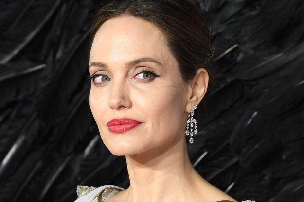 Angelina Jolie à Londres en octobre 2019.