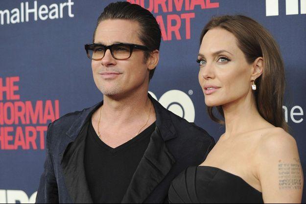 Brad Pitt et Angelina Jolie en 2016