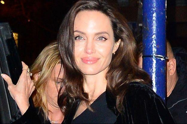 Angelina Jolie en décembre 2017.