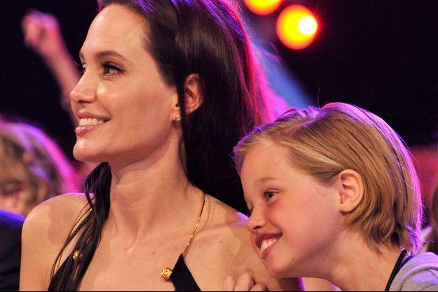 Angelina Jolie et sa fille Shiloh Jolie-Pitt