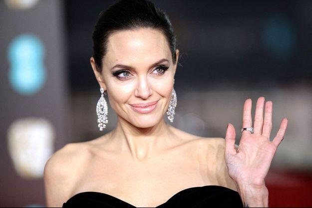 Angelina Jolie en février 2018.