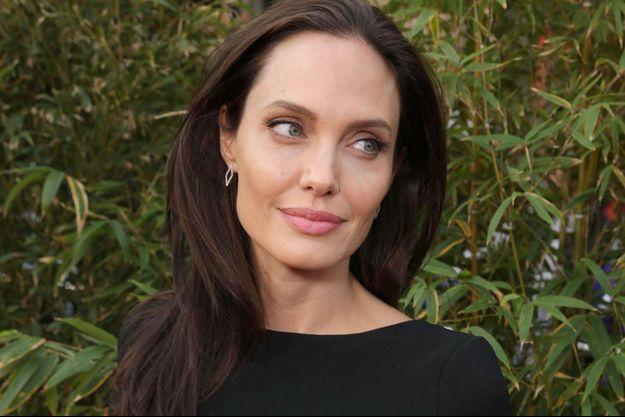 """Angelina Jolie à l'avant-première de """"Kung Fu Panda 3"""" en janvier 2016."""