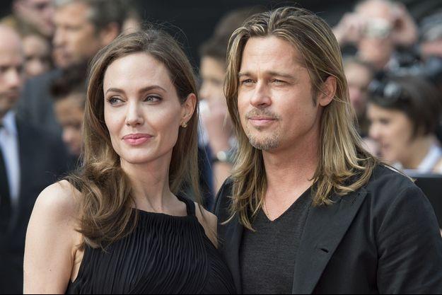 Angelina Jolie et Brad Pitt en 2013