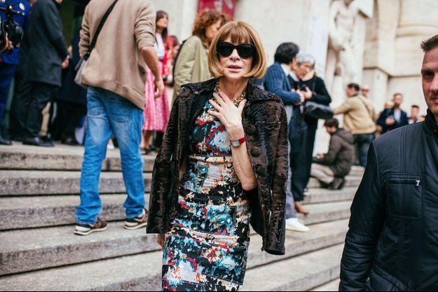 Anna Wintour à Milan en février 2017.