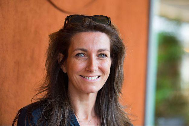 Anne-Claire Coudray à Roland Garros en 2019