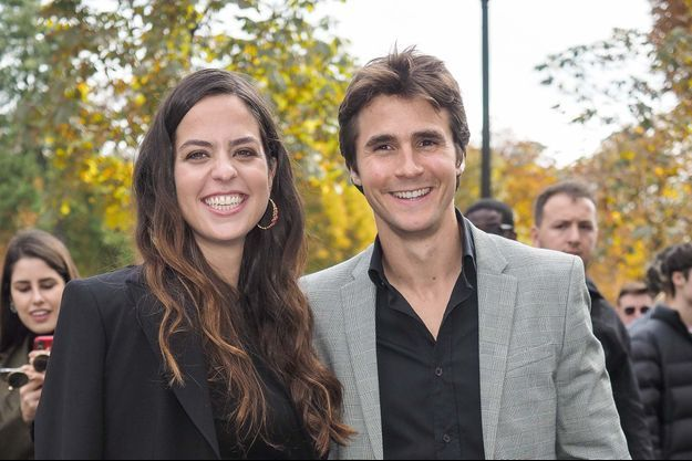 Anouchka Delon et Julien Dereims en 2019.