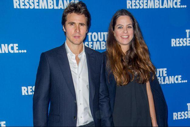 Julien Dereims et Anouchka Delon