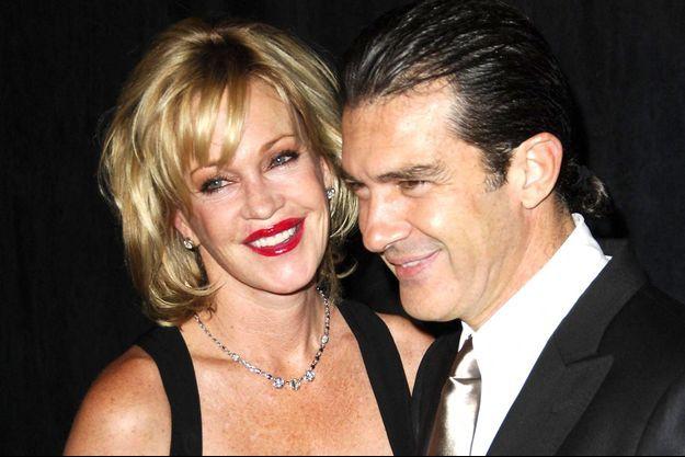Antonio Banderas et Melanie Griffith à Los Angeles en août 2006.
