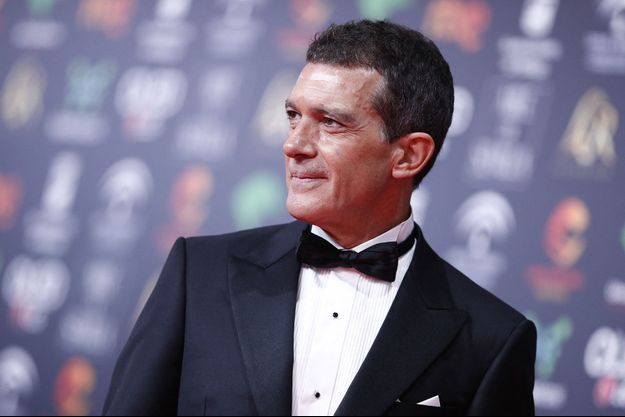 Antonio Banderas en janvier 2020