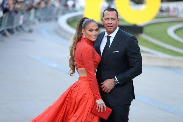 Jennifer Lopez et Alex Rodriguez en juin 2019.