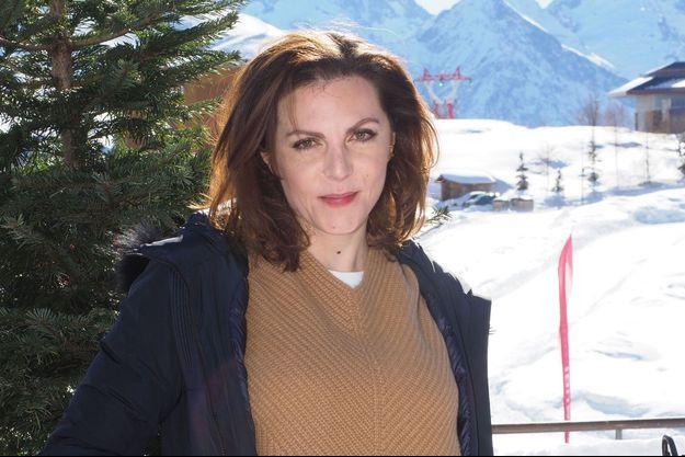 Anne-Élisabeth Blateau à Alpe d'Huez, en janvier 2019.