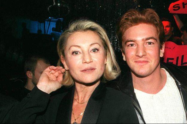 Sheila et Ludovic en 1998.