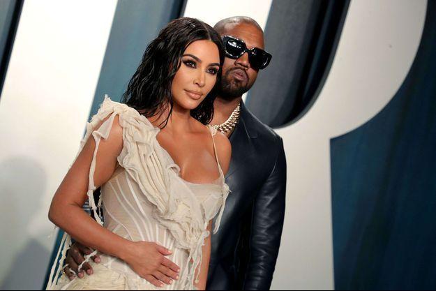 Kim Kardashian et Kanye West en février 2020.