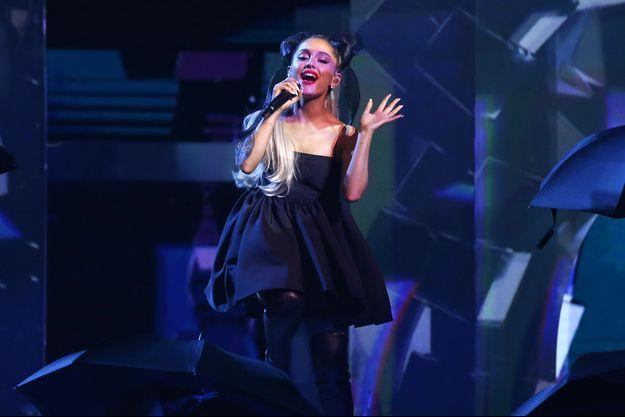Ariana Grande en concert en mai 2018