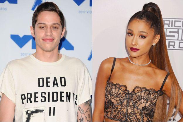 Pete Davidson et Ariana Grande