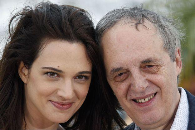 Asia et Dario Argento au festival de Cannes, en 2012.