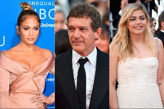 Jennifer Lopez, Antonio Banderas et Louane