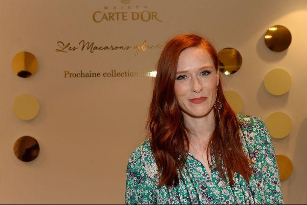 Audrey Fleurot jeudi dernier à la soirée d'inauguration de la première soirée Carte d'Or.