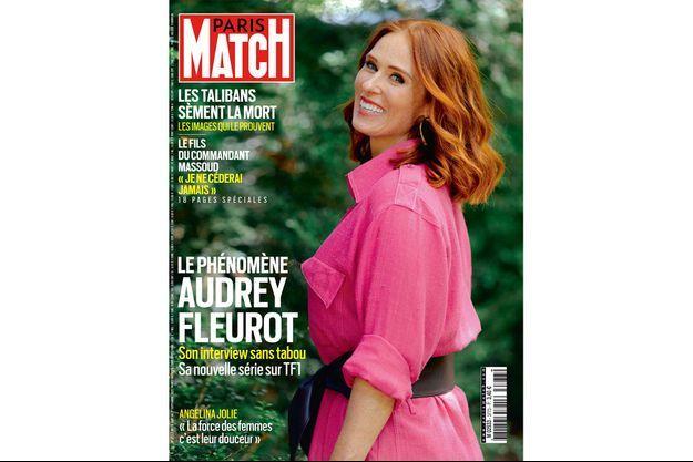Audrey Fleurot en couverture de Paris Match.