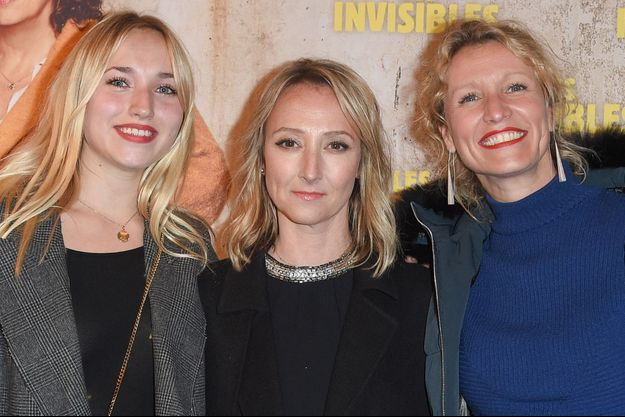 Chloé Jouannet, Audrey Lamy et Alexandra Lamy en 2019