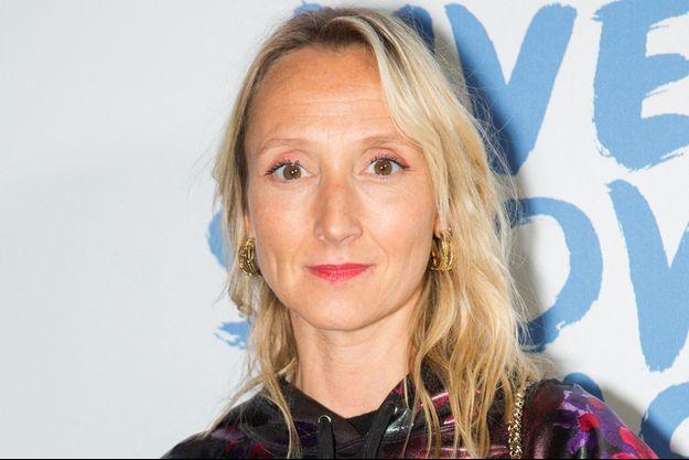 Audrey Lamy en septembre 2019, à Paris.