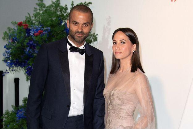 Axelle et Tony Parker à Monte-Carlo en juillet 2019