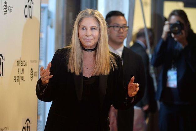 Barbra Streisand en avril 2017.