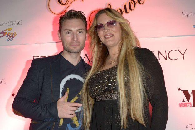 Loana et son ex-compagnon Fred Cauvin en 2017