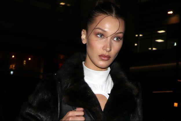Bella Hadid en février 2020 à Londres.