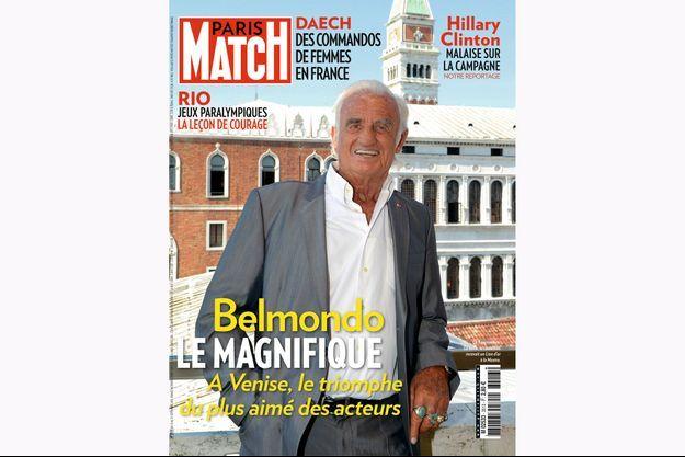 La couverture du numéro 3513 de Paris Match